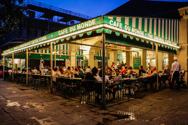 Cafe du Monde by Paul Broussard