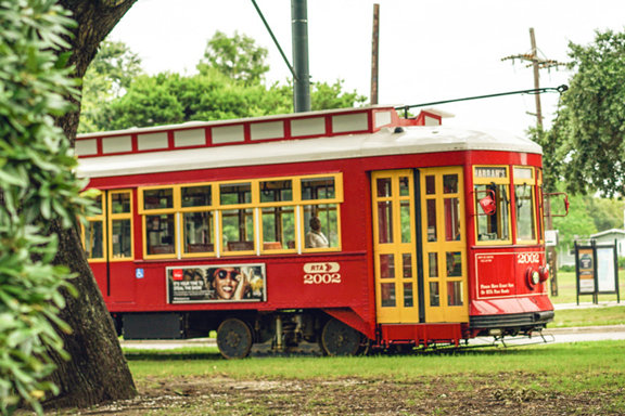 Canal Streetcar by Paul Broussard